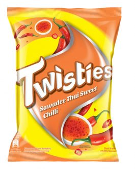 Twisties Flavoured Corn Snacks Thai Sweet Chilli Flavour 60G