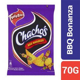 Twisties Chacho's BBQ Bonanza Tortilla Corn Chips 70g – 4258783