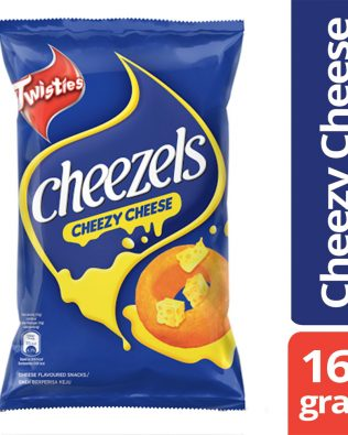 Twisties Cheezels Cheezy Cheese Flavoured Snacks 165g – 4049276