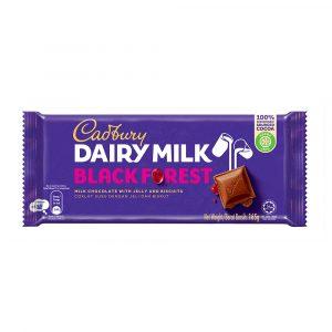 Cadbury Dairy Milk Black Forest Wholenuts 165g – 4006129