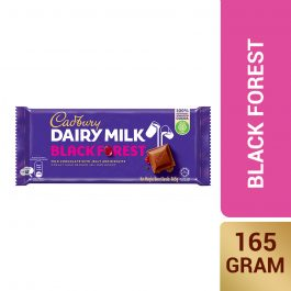 Cadbury Dairy Milk Black Forest Wholenuts 165g – 4006129