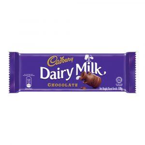Cadbury Dairy Milk Chocolate 100g – 4055230