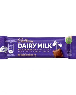 Cadbury Dairy Milk Chocolate 15g – 616105