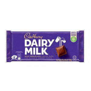 Cadbury Dairy Milk Chocolate 165g – 4007713