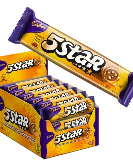 Cadbury Dairy Milk Chocolate 5 Star Biscuits 24 Packs X 45G-4025363