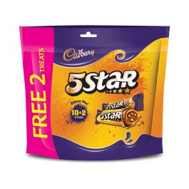 Cadbury Dairy Milk Chocolate 5 Star Biscuits Doybag 10 Treats X 15G (180G) +Free 2 Treats-4067321