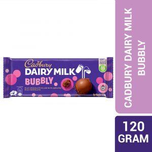 Cadbury Dairy Milk Chocolate Bubbly 120G – 4070833