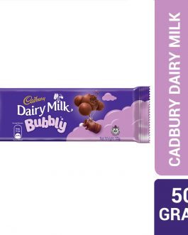 Cadbury Dairy Milk Chocolate Bubbly 50G – 4070832
