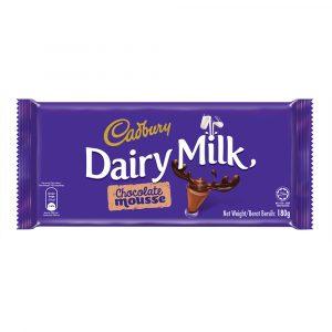 Cadbury Dairy Milk Chocolate Mousse 180g – 616115