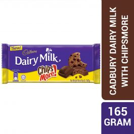 Cadbury Dairy Milk Chocolate Chipsmore 165G – 4258193