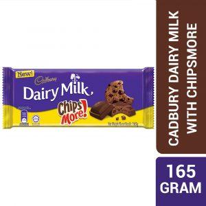 Cadbury Dairy Milk Chocolate Chipsmore 165G – 4258193
