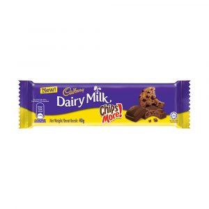 Cadbury Dairy Milk Chocolate Chipsmore 40G – 4258111