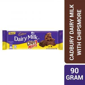 Cadbury Dairy Milk Chocolate Chipsmore 90G – 4258144
