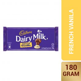 Cadbury Dairy Milk French Vanilla 180g – 616125