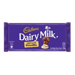 Cadbury Dairy Milk French Vanilla 180g – 616125
