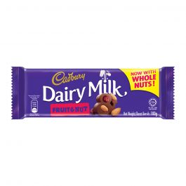 Cadbury Dairy Milk Fruit & Nut 100g – 4055235