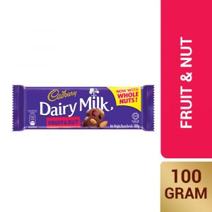 Cadbury Dairy Milk Fruit & Nut 100g – 4055235