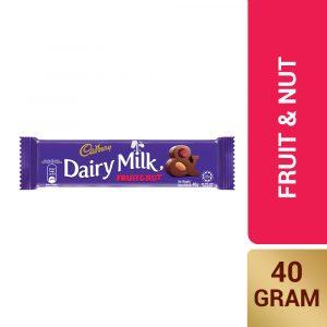 Cadbury Dairy Milk Fruit & Nut 40g – 616132