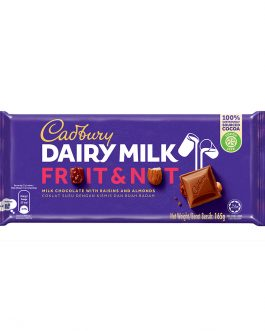 Cadbury Dairy Milk Fruit & Nut Wholenuts 165g – 4055279