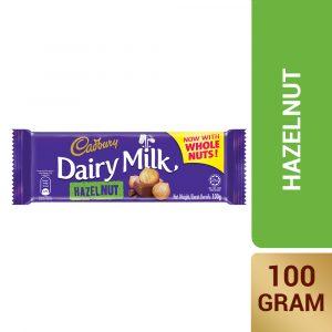 Cadbury Dairy Milk Hazelnut 100g – 4055235