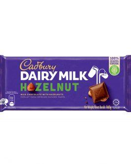Cadbury Dairy Milk Hazelnut Wholenuts 165g – 4055282