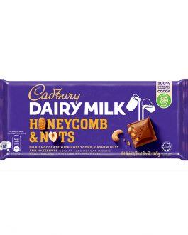Cadbury Dairy Milk Honeycomb & Nut Wholenuts 165g – 4029819