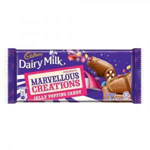 Cadbury Dairy Milk Chocolate Marvellous Creations Jelly Popping Candy 150g-4049498