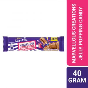 Cadbury Dairy Milk Chocolate Marvellous Creations Jelly Popping Candy 40g-322608