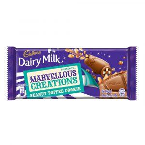 Cadbury Dairy Milk Chocolate Marvellous Creations Peanut Toffee Cookie 150g-4049507