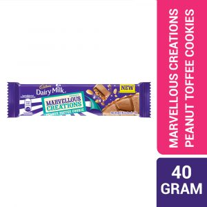 Cadbury Dairy Milk Chocolate Marvellous Creations Peanut Toffee Cookie 40g-322582