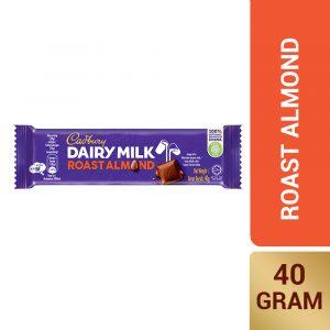 Cadbury Dairy Milk Roast Almond 40g – 616130