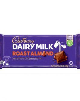 Cadbury Dairy Milk Roast Almond Wholenuts 165g – 4055285