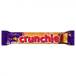Cadbury Crunchie Chocolate Chunky Gold Bar of Delicious Honeycomb Smothered 50G – 615562