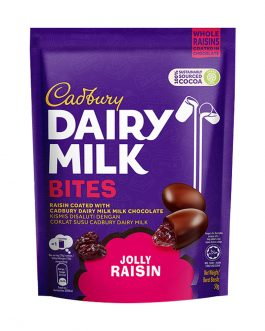 Cadbury Dairy Milk Jolly Raisin Bites 50g – 4260330