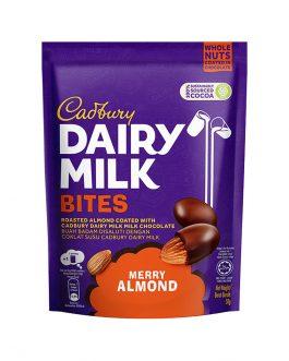 Cadbury Dairy Milk Merry Almond Bites 50g – 4260328