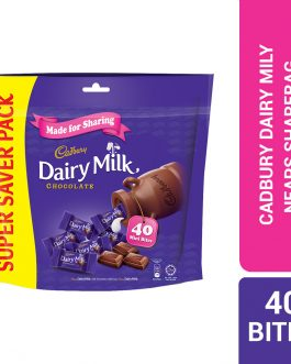 Cadbury Dairy Milk Chocolate Flavoured Neaps Doybag (Sharebag) 40 Mini Bites 180G – 4058127