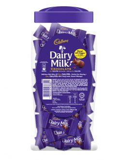 Cadbury Dairy Milk Chocolate Flavoured Neaps Jar 450G – 4017126