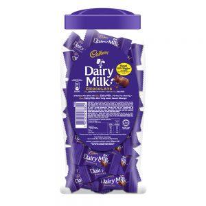 Cadbury Dairy Milk Chocolate Flavoured Neaps Jar 450G – 4017126
