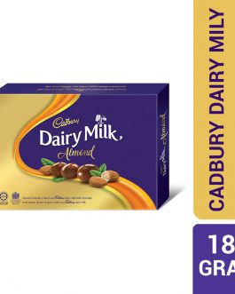 Cadbury Dairy Milk Chocolate Roasted Almonds Coated Panned 180G – 4053879