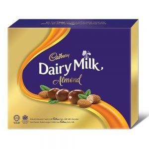 Cadbury Dairy Milk Chocolate Roasted Almonds Coated Panned 300G – 4053760