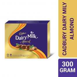 Cadbury Dairy Milk Chocolate Roasted Almonds Coated Panned 300G – 4053760