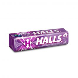 Halls Stick Blueberry Mint Flavoured Candy 9 Pieces (34G) – 610107