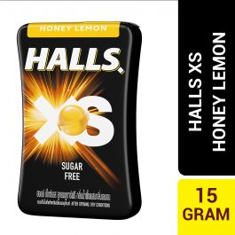 Halls XS Honey Lemon Flavored Sugar Free Candy 15G – 4056397