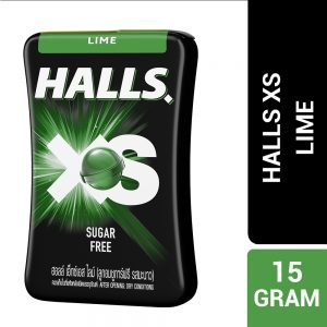 Halls XS Lime Flavored Sugar Free Candy 15G – 4056388