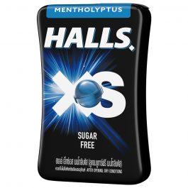 Halls XS Mentho-Lyptus Flavored Sugar Free Candy 15G – 4056394