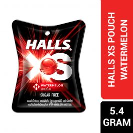 Halls XS Pouch Watermelon Flavored Sugar Free Candy 5.4G – 4258338