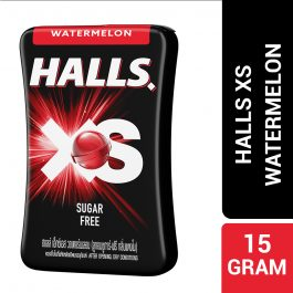 Halls XS Watermelon Flavored Sugar Free Candy 15G – 4056391