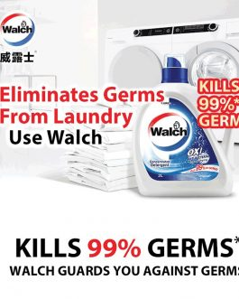 Walch 2000ml Antibacterial Laundry Detergent Refill – Original/ Pine/ Lemon/ Lavender