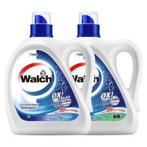 Walch 2000ml Antibacterial Laundry Detergent – Original/ Pine