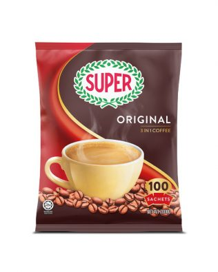 Super Original 3in1 Instant Coffee 20G x 100 Sachets – 1674963